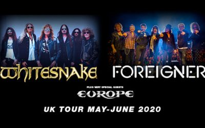 Whitesnake, Foreigner & Europe